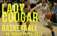 Lady Cougars vs. Lady Raiders 01/23/2013