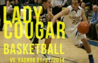 Lady Cougars vs. Lady Raiders 01/31/2014
