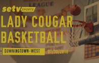 Lady Cougars vs. Tigers 01/20/2016