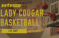 Lady Cougars vs. Patriots 02/13/2016