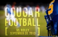 Cougars vs. Raiders 09/20/2013