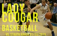 Lady Cougars vs. Lady Panthers 01/23/2015