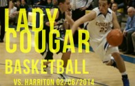Lady Cougars vs. Lady Rams 02/06/2014