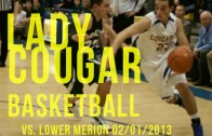 Lady Cougars vs. Lady Aces 02/01/2013