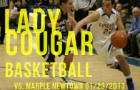 Lady Cougars vs. Lady Tigers 01/19/2013