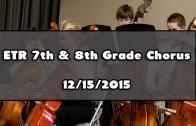 1st Grade Holiday Showcase – Middle Level 12/19/2017