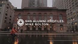 SHS Alumni Profiles: Mike Bolton