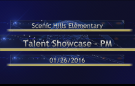 Scenic Talent Showcase PM 01/26/2016