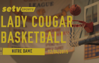 Lady Cougars vs. Fighting Irish 12/04/2015