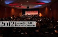 Carnegie Hall Preview Concert 2012
