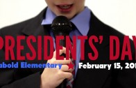 Presidents' Day 2013 at Sabold Elementary