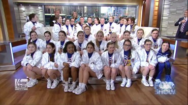SHS Cheerleaders – After The Show segment