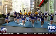 SHS Varsity Cheerleaders – Fox and Friends – 2-12-2016