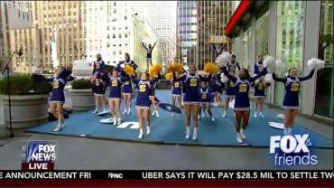 SHS Varsity Cheerleaders – Fox and Friends – 2-12-2016