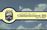 Springfield High Commencement 2014