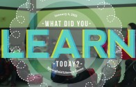 What Did You Learn Today? (Jan 4, 2013)