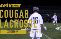 Cougar Lacrosse vs. Pioneers 04/07/2016