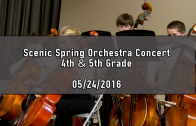 Scenic 4th & 5th Grade Spring Orchestra Concert at ETR