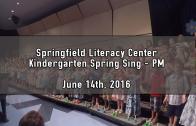Kindergarten Spring Sing! May 18 2018 (PM Kids!)