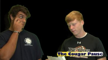 The Cougar Pause 001 – September 14, 2016