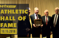 Athletics Hall of Fame Induction Ceremony October 15, 2016