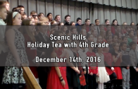 Holiday Tea with 4th Grade (AM) 12/14/2016