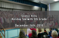 Holiday Tea with 5th Grade (PM) 12/14/2016