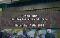 Holiday Tea with 2nd Grade (AM) 12/15/2016