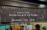 Holiday Tea with 3rd Grade (PM) 12/15/2016
