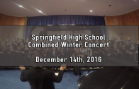 Winter Combined Concert 12/14/2016