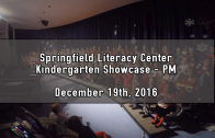 PM Kindergarten Holiday Showcase 12/19/2016