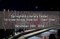 1st Grade Upper Level Holiday Showcase 12/20/2016