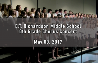 8th Grade Belle Voce and Choir Concert 05/09/2017