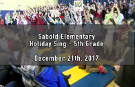 Holiday Sing – 5th Grade 12/21/2017