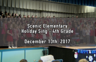 Holiday Tea – 4th Grade 12/13/2017