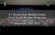 1st Grade Holiday Showcase – Lower Level 12/19/2017