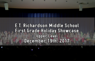 1st Grade Holiday Showcase – Upper Level 12/19/2017