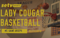 Cougars vs. Mt. Saint Joseph Academy 02/23/2018