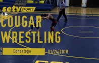 Cougars vs Pioneers 01/24/2018