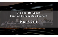 7 & 8th Grade Band and Orchestra concert