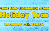 Holiday Tea – 5th Grade 12/13/2017